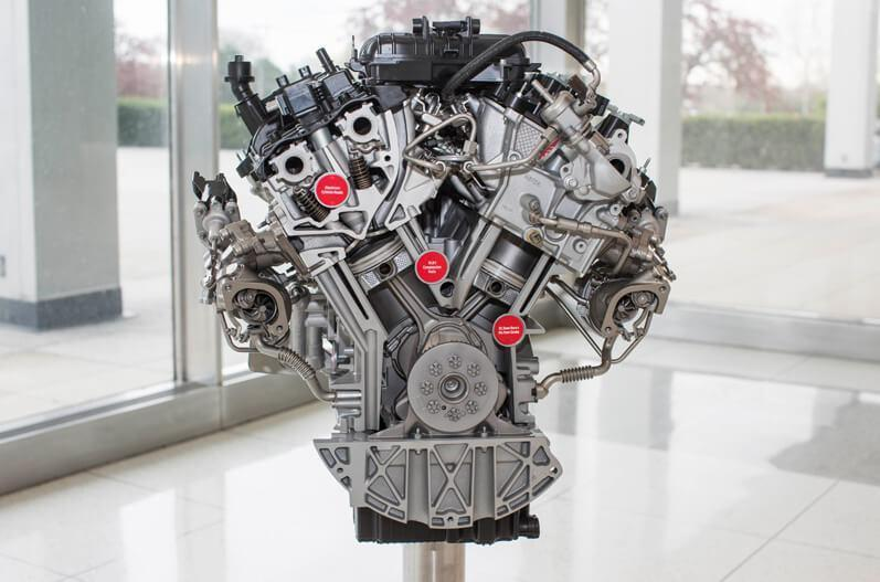 Ford F-150 engine
