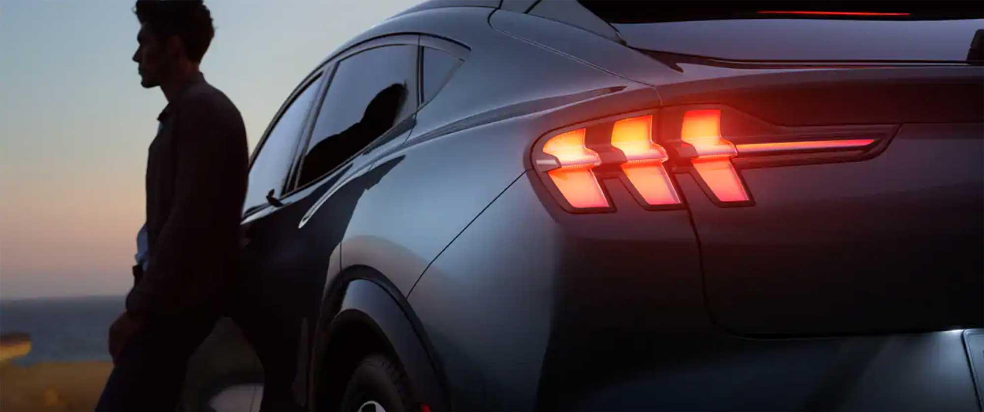 The 2021 Ford Mustang Mach-E. Truly electric.