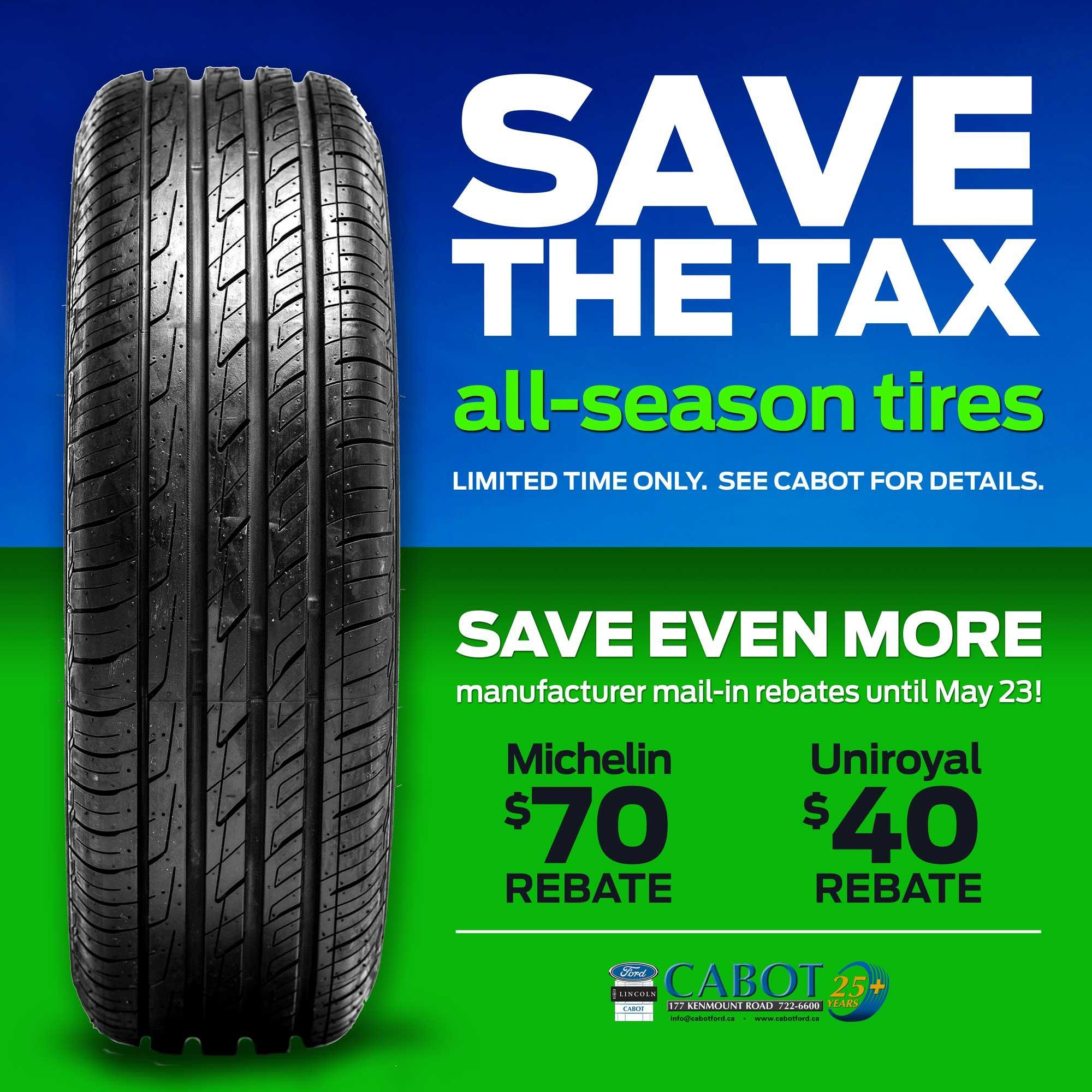 Ford All-Season Tires image