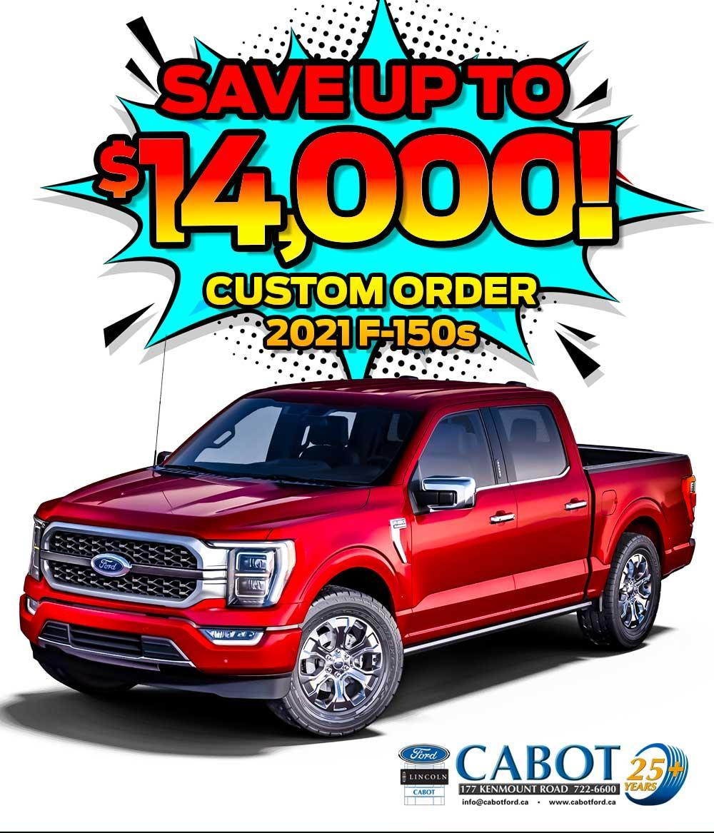 Custom order your next Ford! Cabot Ford Lincoln is your stop for factory-ordered vehicles!