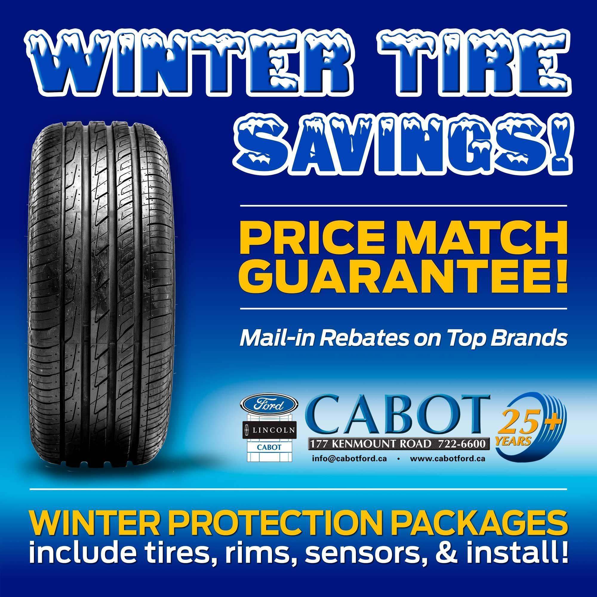 Winter tire deals in St. John's NL