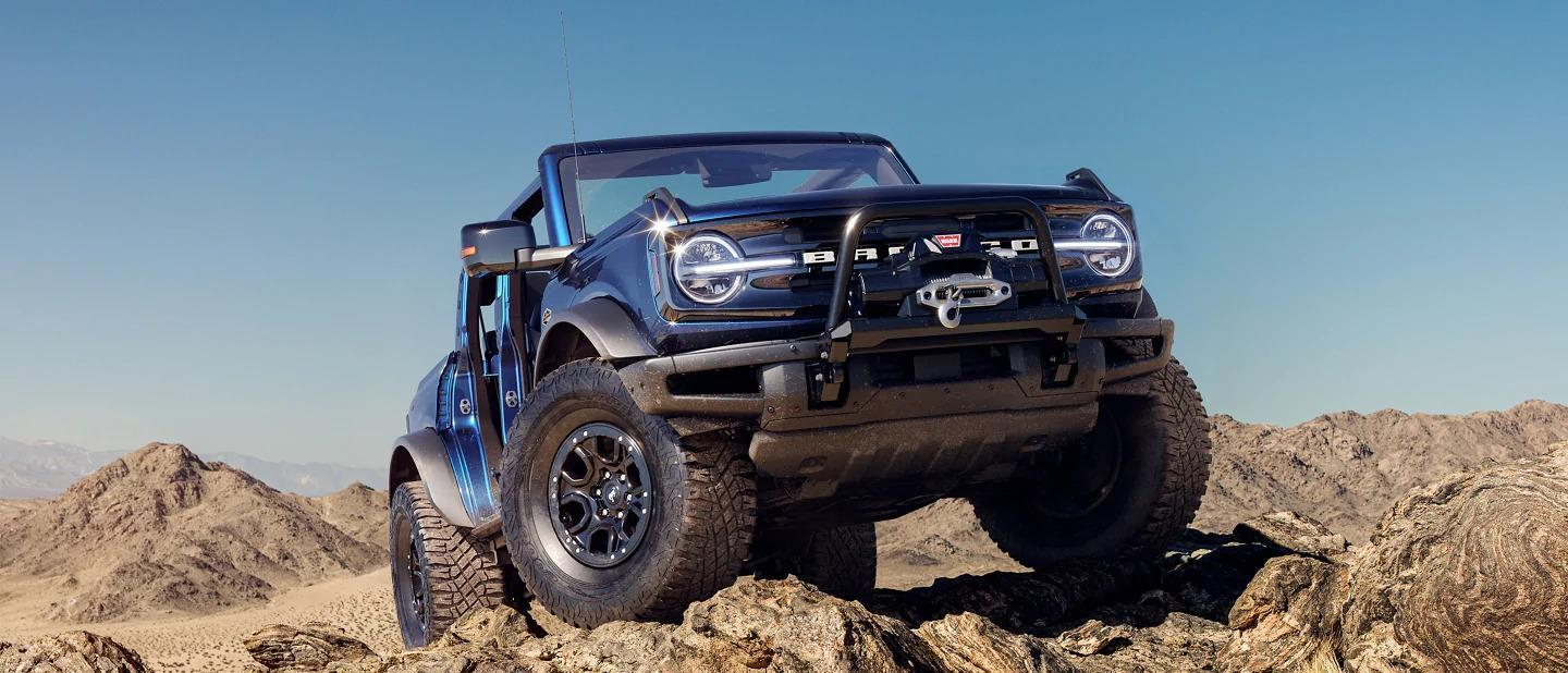 Factory order a new Bronco in St. John's.