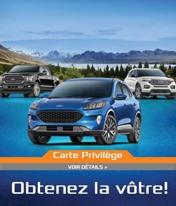 Carte Privilège