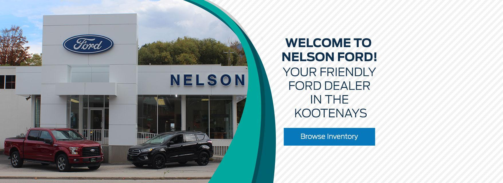 Welcome to Nelson Ford!