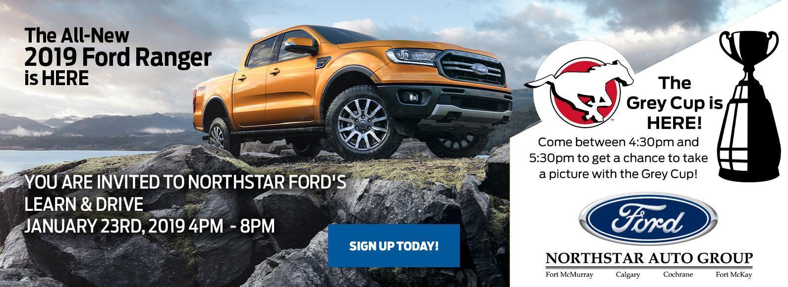 2019 Ford Ranger Event