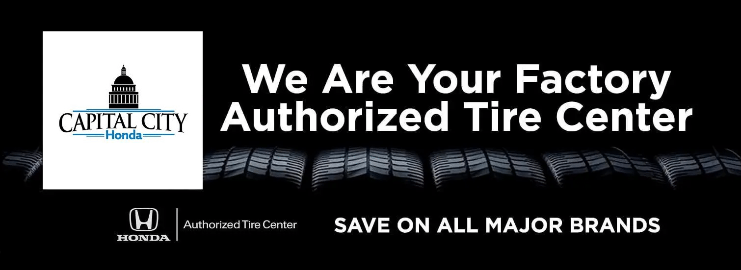 Mel Rapton Honda Is A Factory Authorized Tire Center