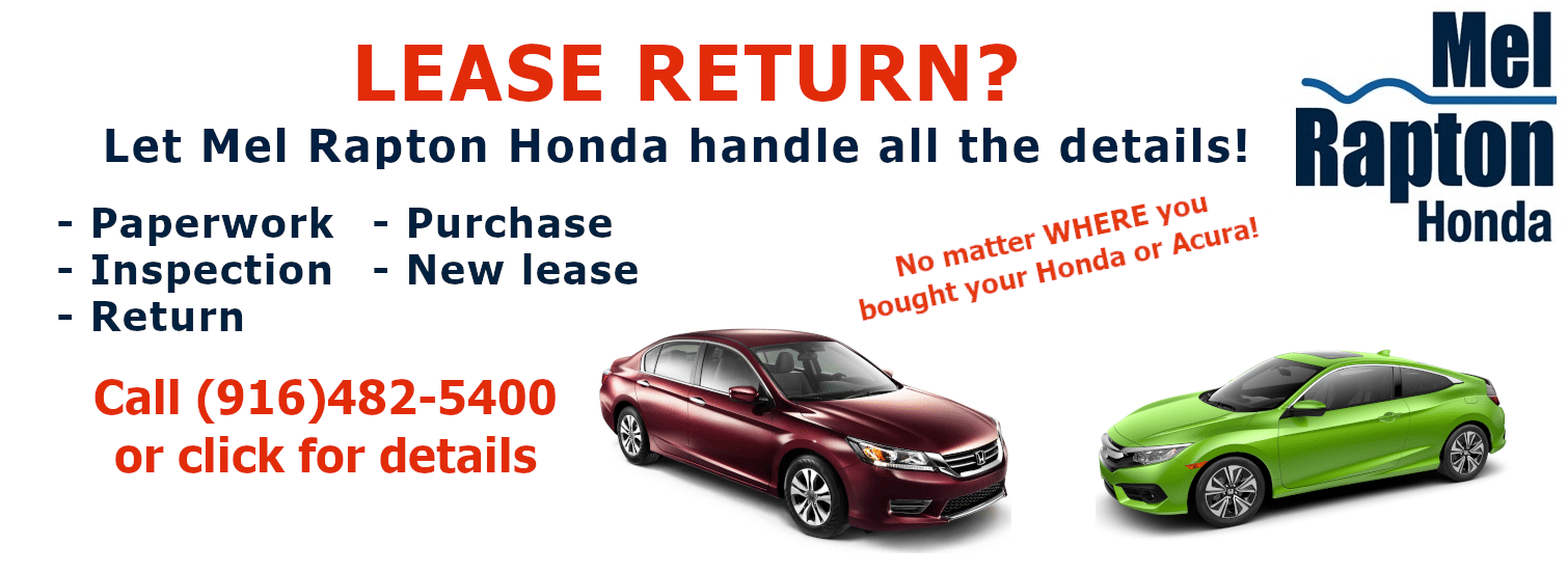 Mel Rapton Lease Return Program