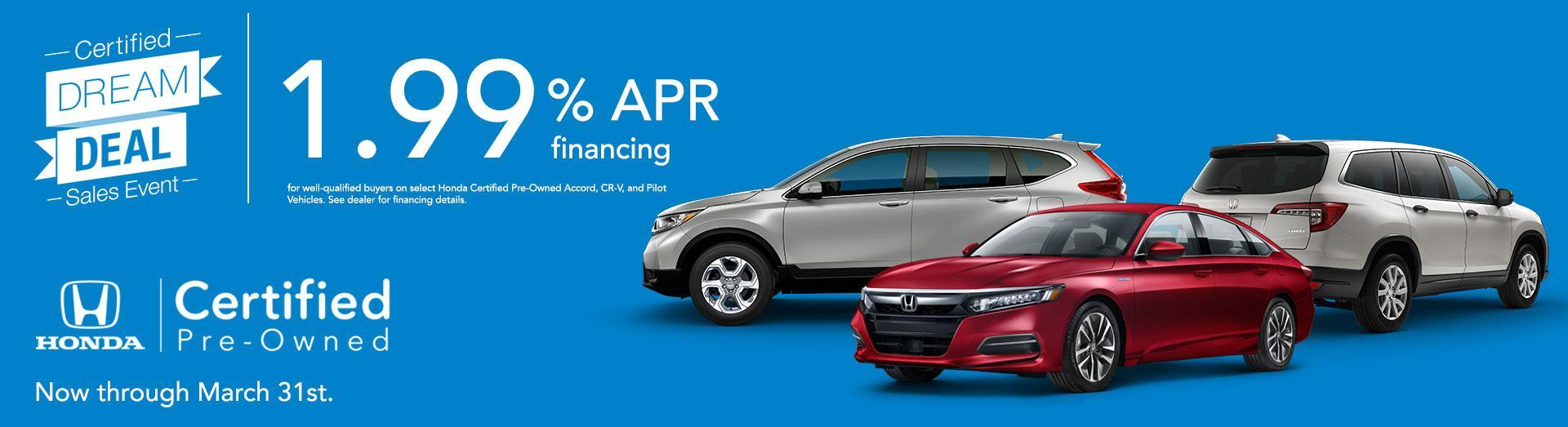 Honda CPO Offer