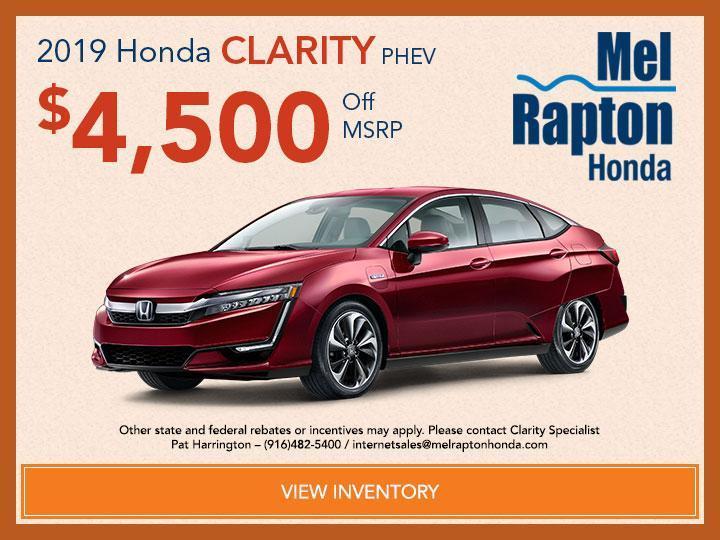 2019 Honda Clarity PHEV