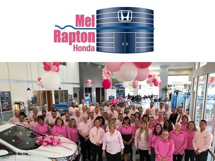 Mel Rapton Honda