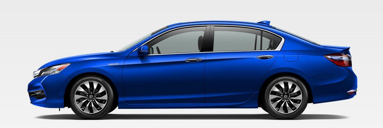 Blue 2017 Honda Accord