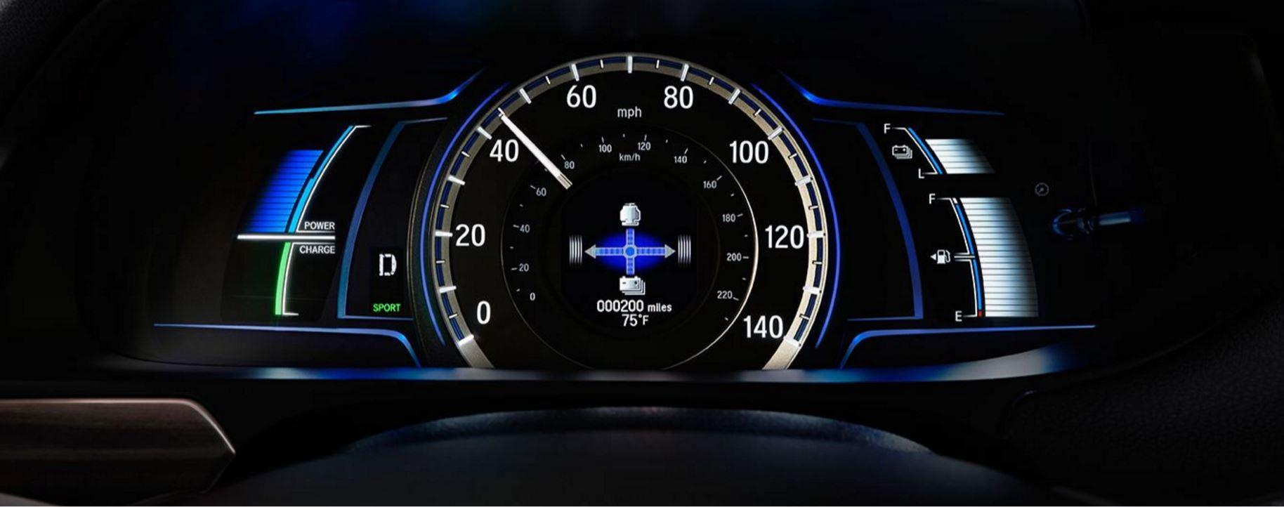 2017 Honda Accord Speedometer