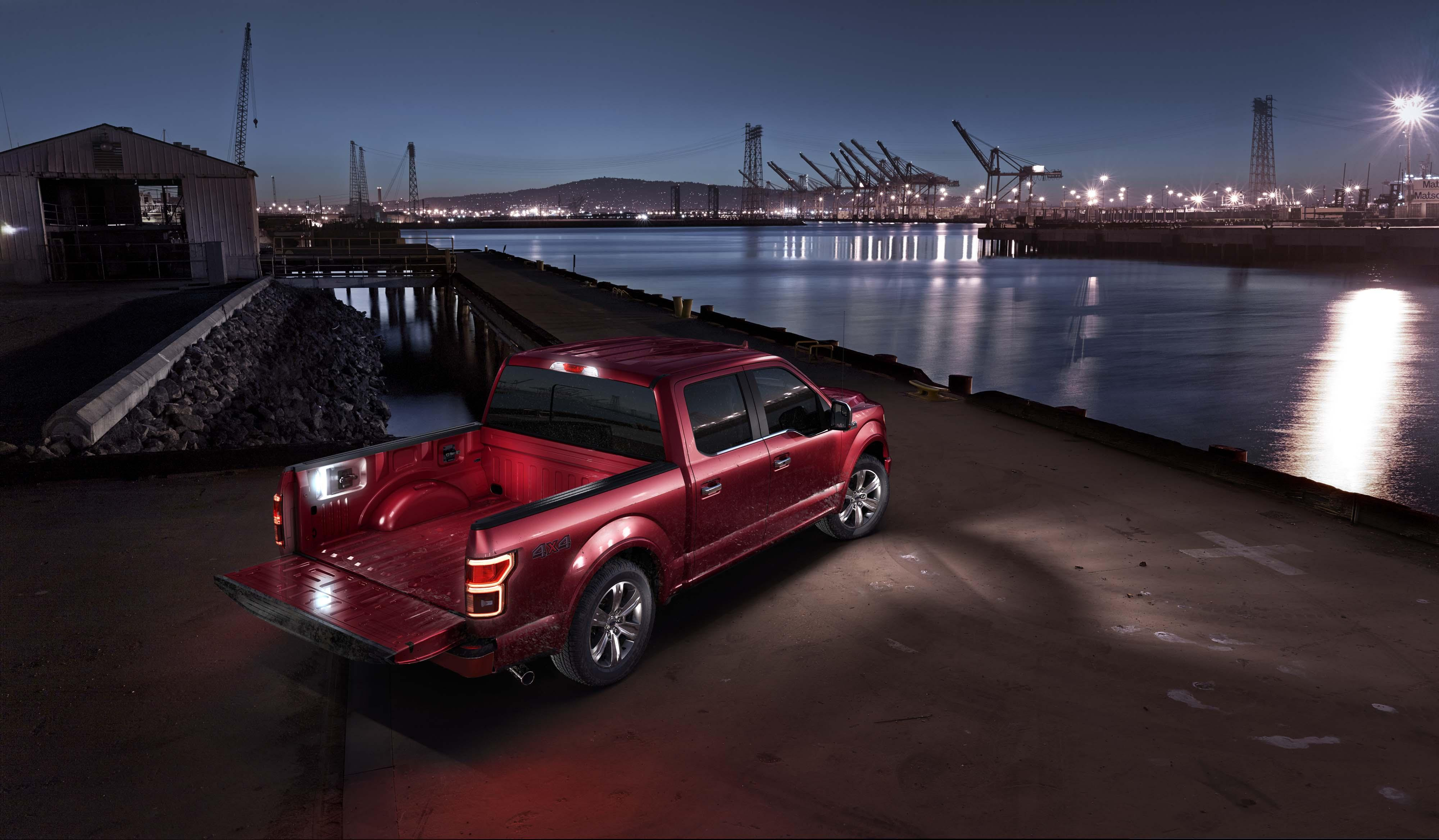 Ford $112/week: lease a NEW 2019 Ford F-150 XLT Sport SuperCrew | Coastal Ford Burnaby image