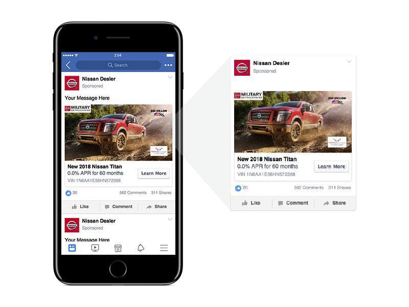 Social Media Ad Example