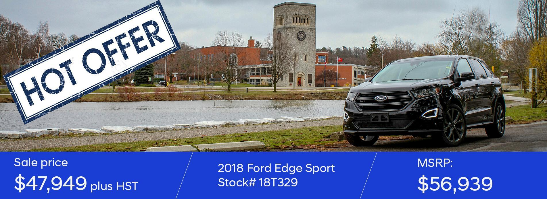 2018 Ford Edge - stock#18T329
