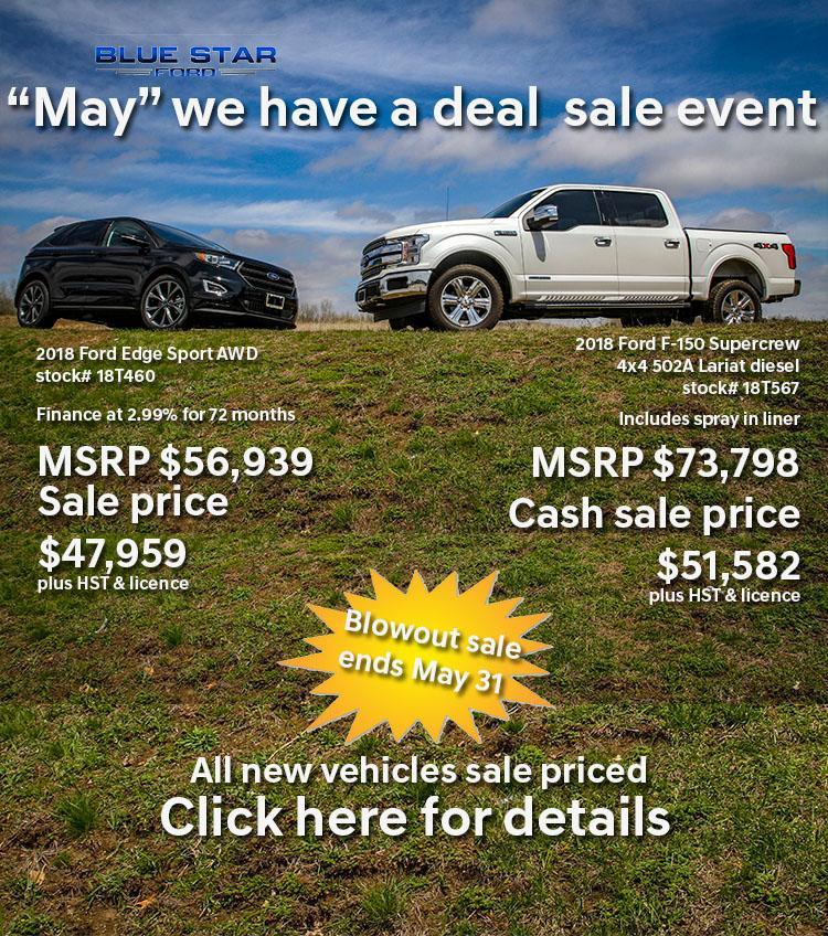 May we have a deal sales event