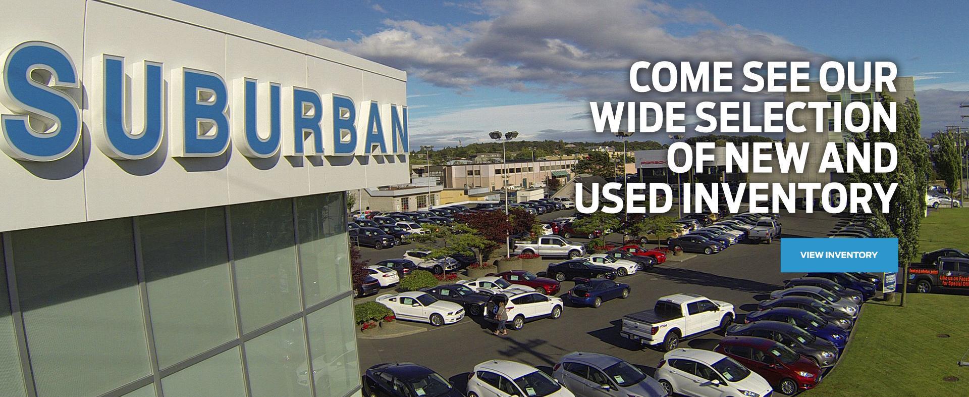 Suburban Motors | Ford Dealership in Victoria, BC