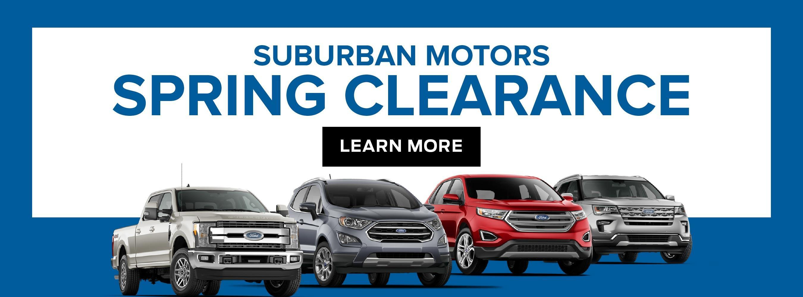 Ford Home Spring Clearance
