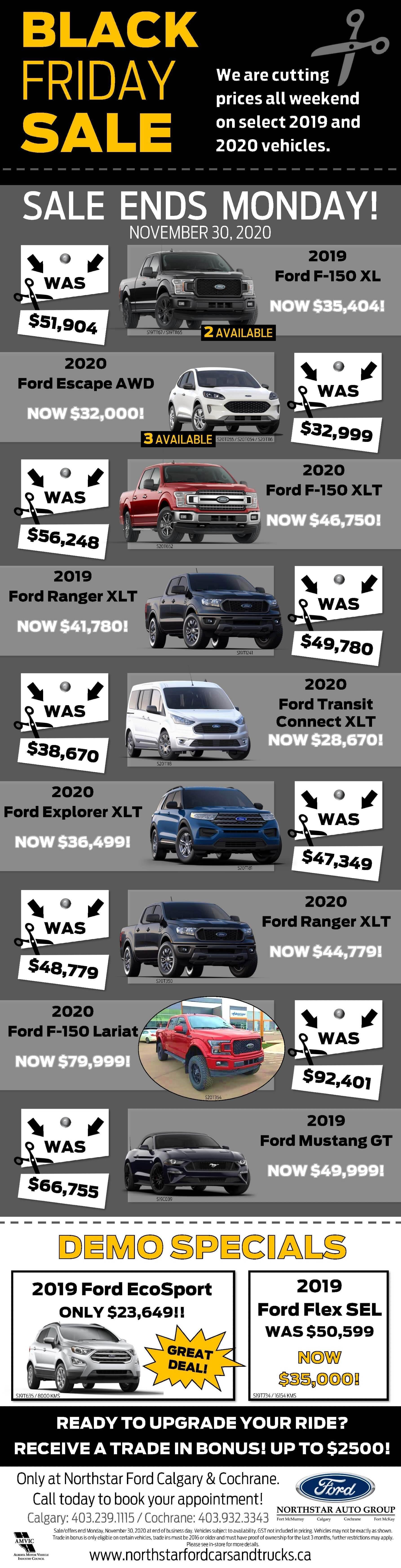 Northstar Ford Calgary Black Friday Sale
