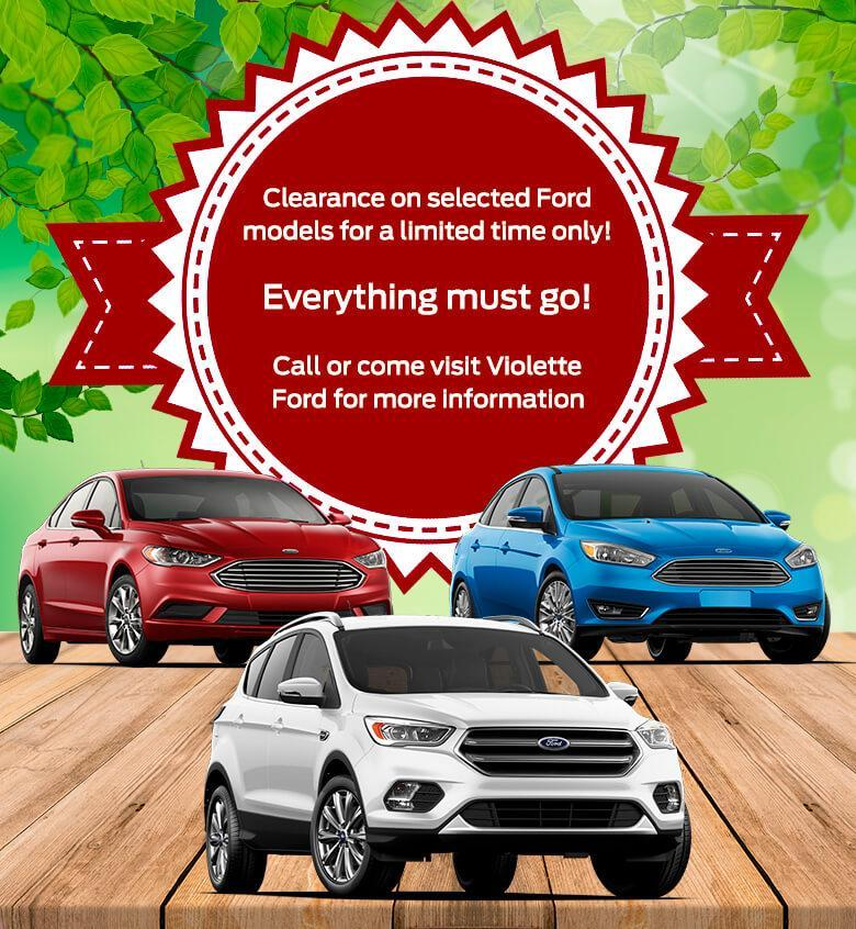 Clearance Violette Ford