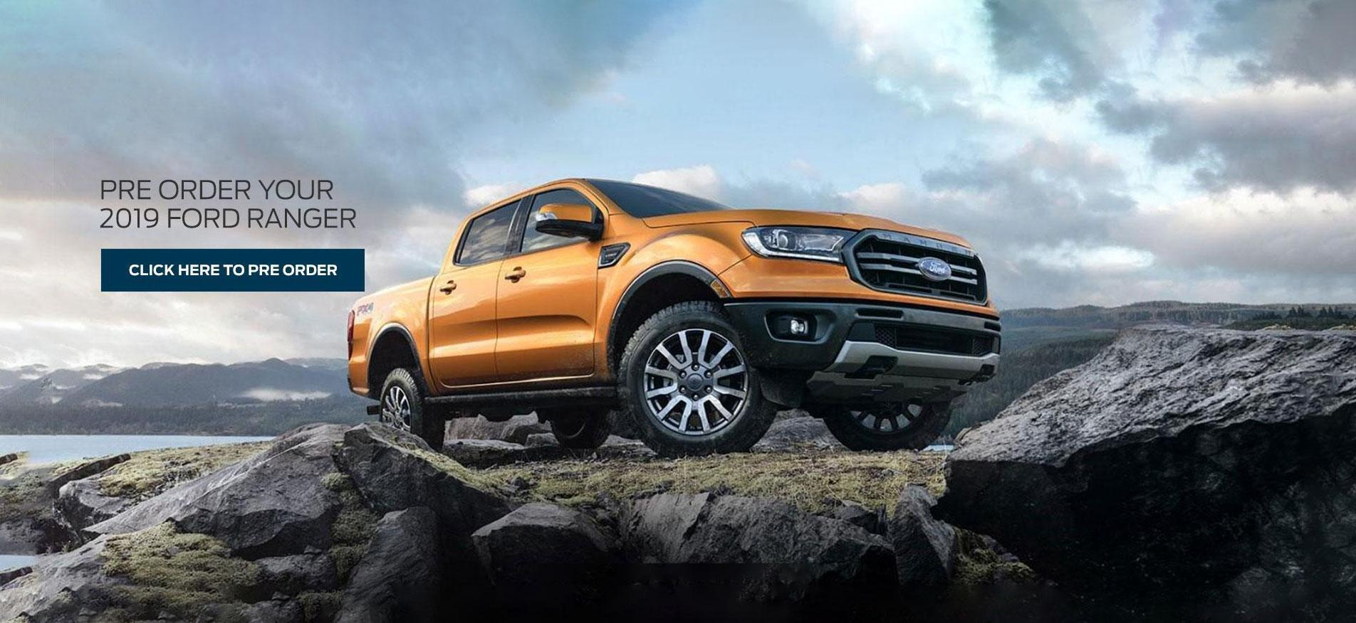 2019 Ford Ranger Orange