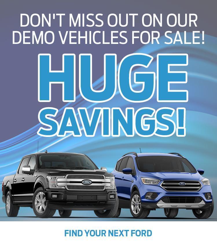 Demo Vehicle Sale