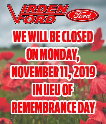 Remembrance Day Hours MB