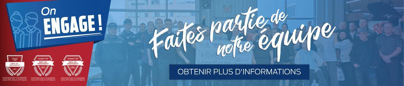 Opportunité d'emploi chez Lincoln Heights Ford