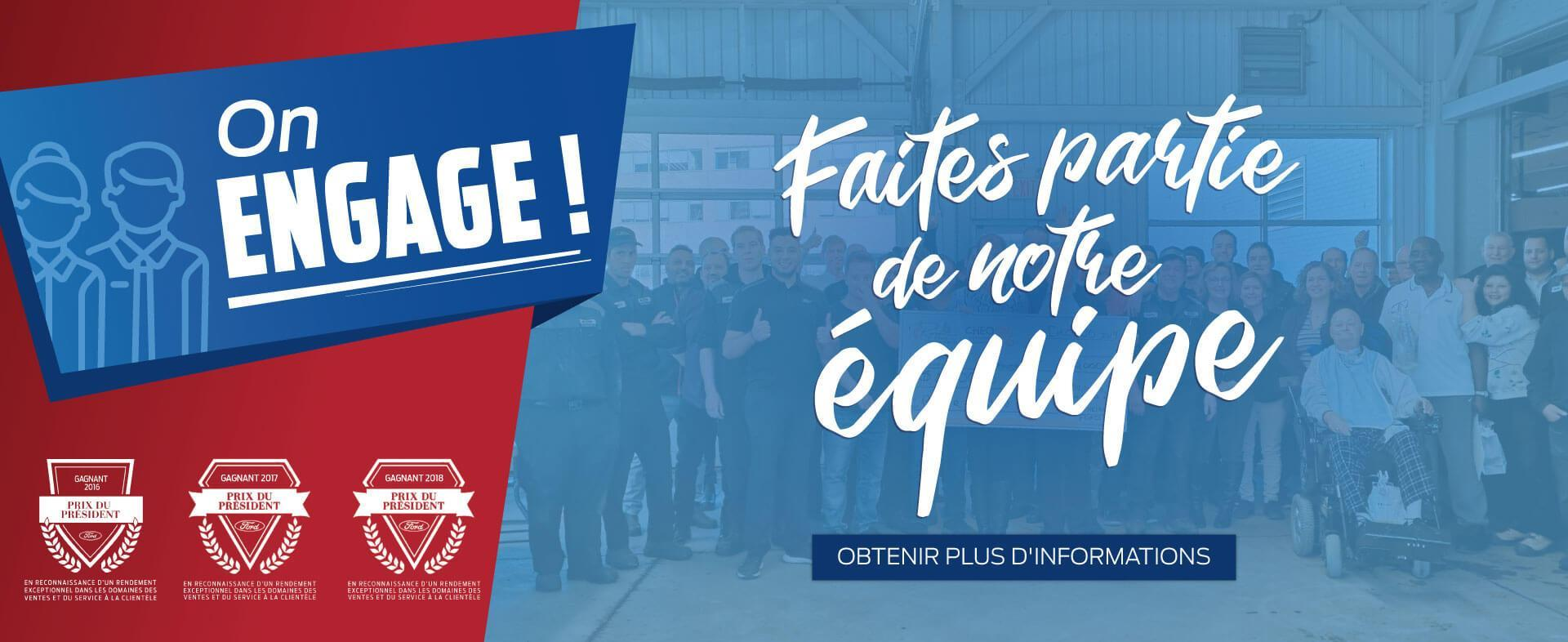 Opportunités d'emploi chez Lincoln Heights Ford
