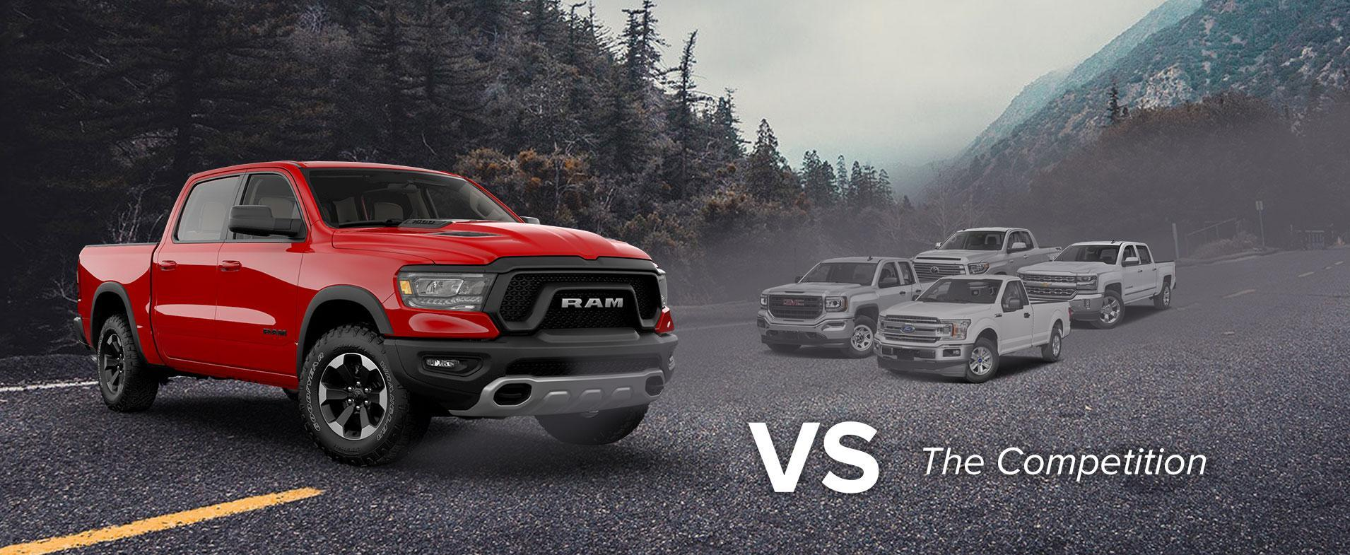 Ram 1500 vs competition