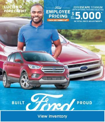 Bannister Ford FEP Escape