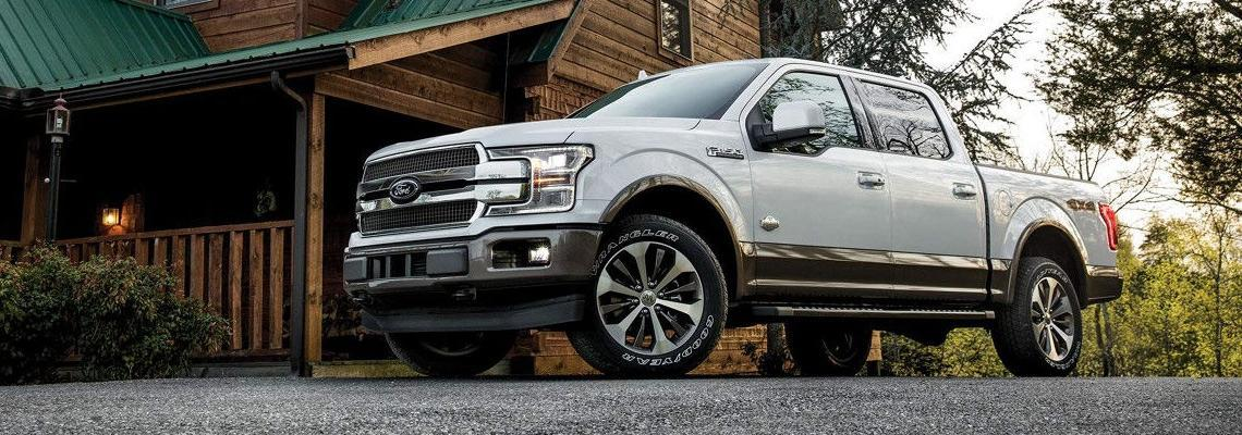 New 2018 Ford F-150 White