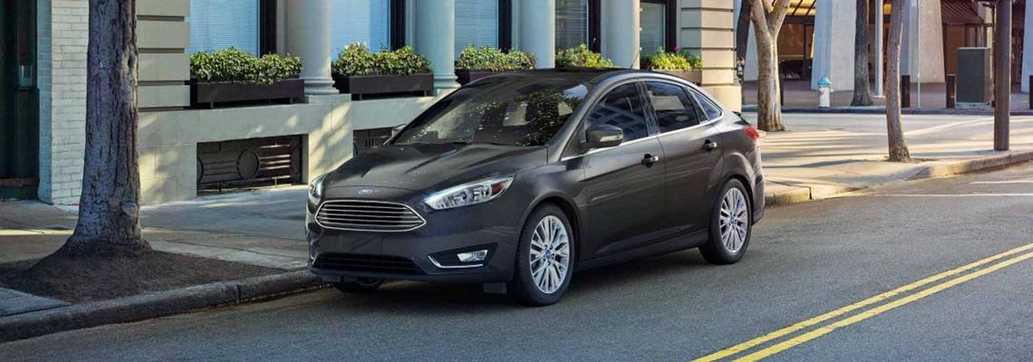 New 2018 Ford Focus Gray