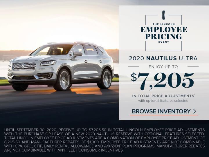 2020 Nautilus
