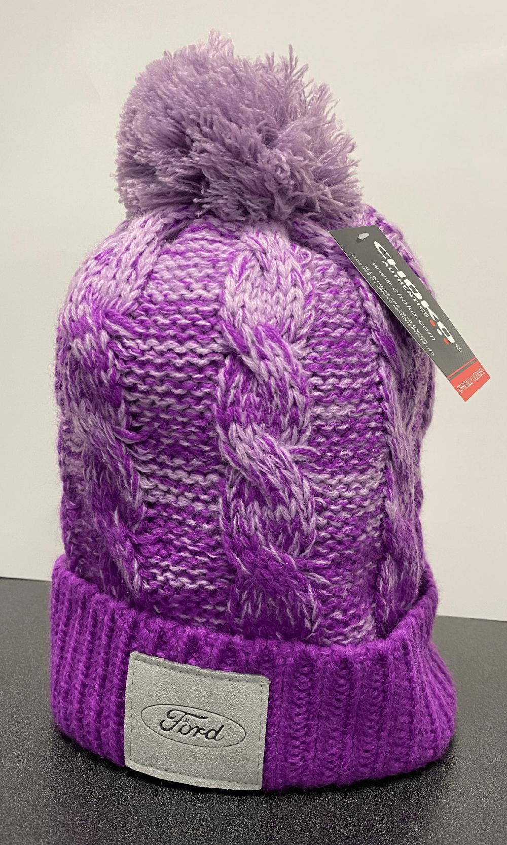 Purple ombre toque