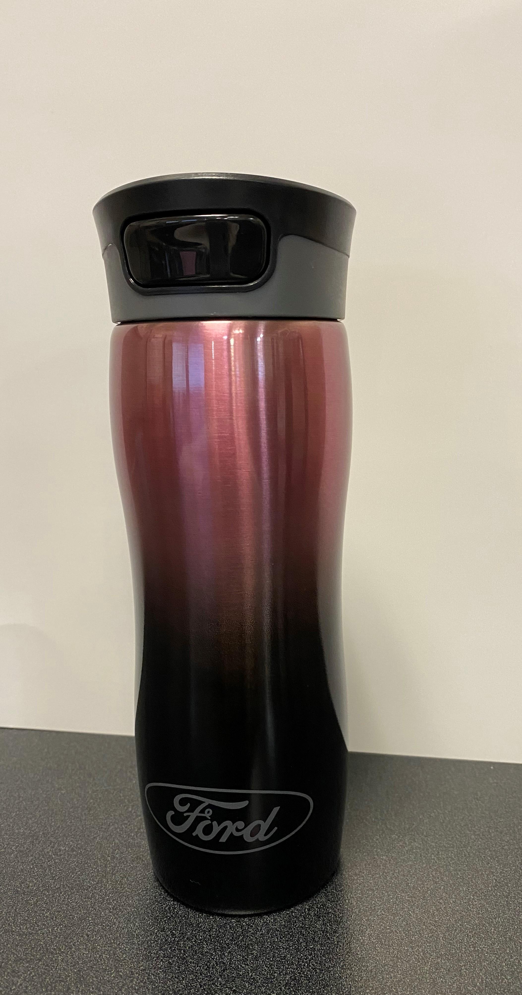 pink ombre togo mug