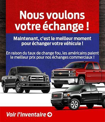 Vision Ford échange