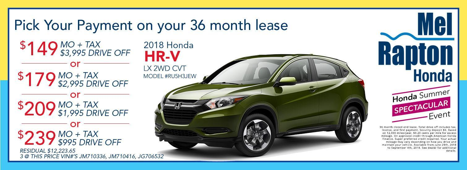 Honda Lease Offer