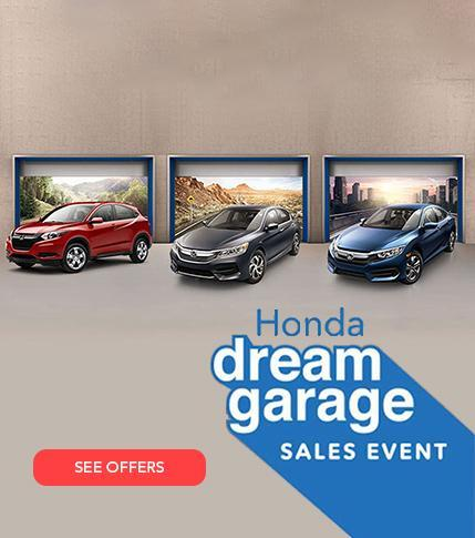 Honda Dream Garage Sales Event