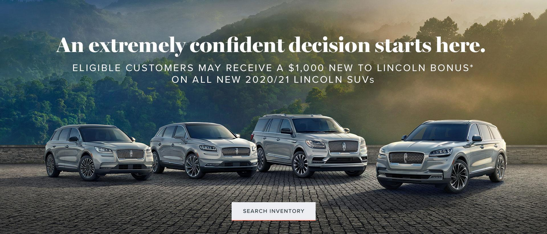 An extremely confident decision starts with Lincoln of Canada.