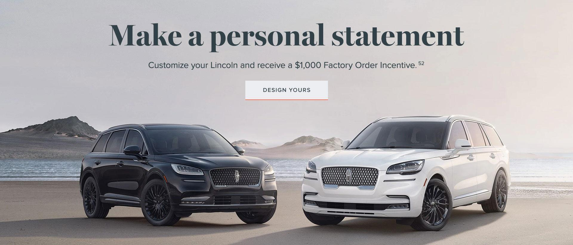 Customize Offer | Lincoln of Canada