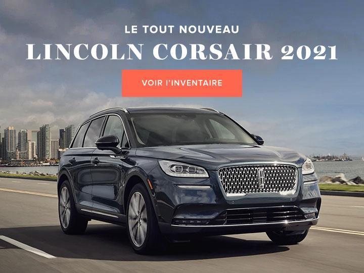 Lincoln Corsair 2021 | Lincoln de Canada