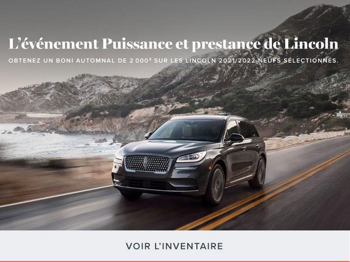 L'evenement Puissance et prestance de Lincoln | Lincoln du Canada