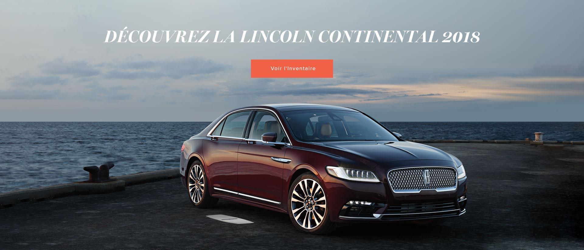 2018 Lincoln Continental