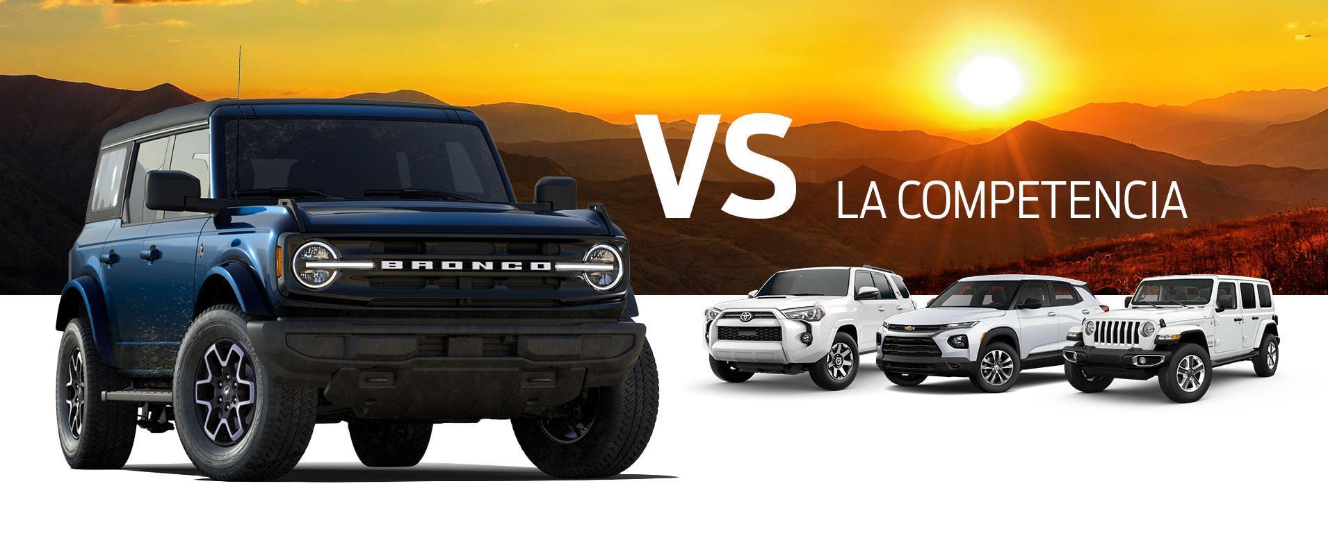 Bronco vs Competition
