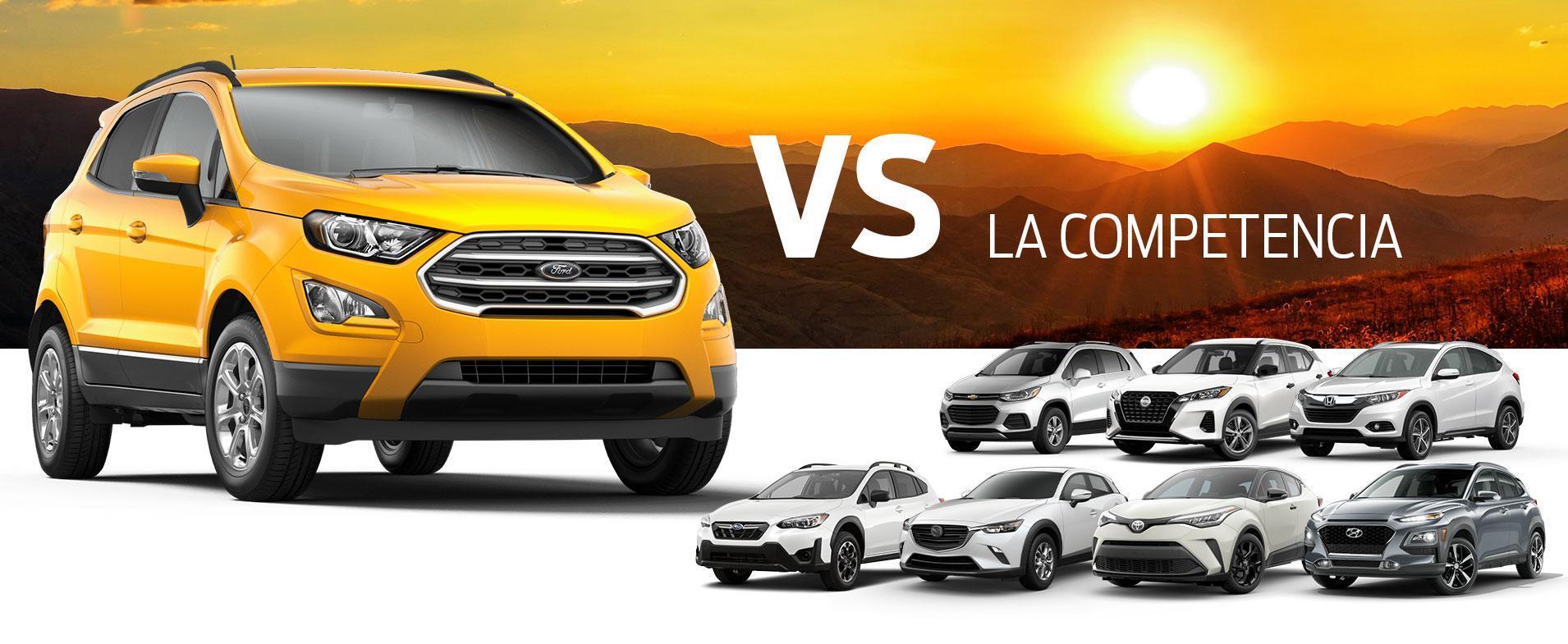 EcoSport vs Competition