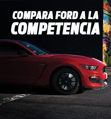 Compara Ford a la Competencia