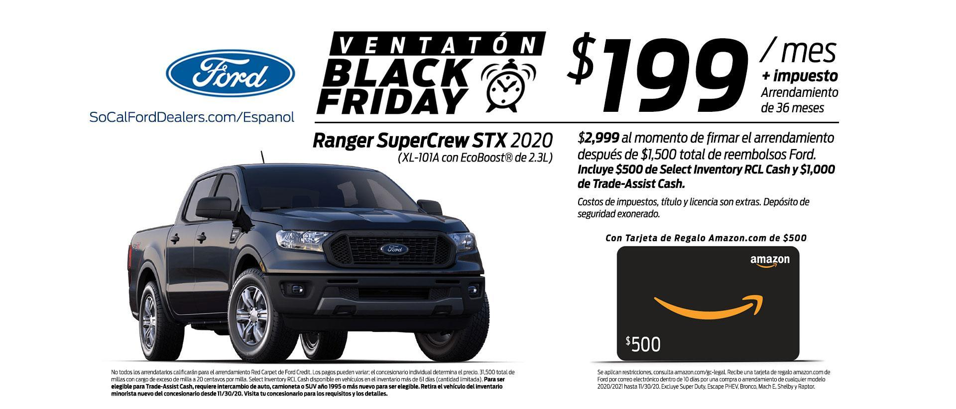 Ranger Black Friday