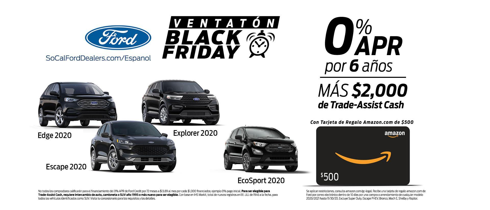 SUV Black Friday Offers