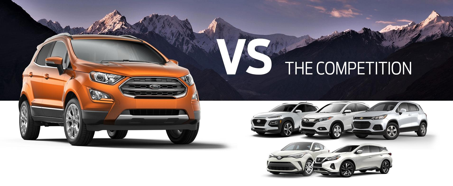 EcoSport vs Competition